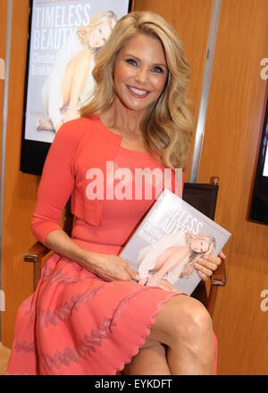 Christie Brinkley promotes her new book 'Timeless Beauty ...