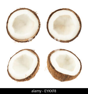 how to cut a coconut in half