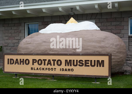 Blackfoot, Idaho - The Idaho Potato Museum. - Stock Photo