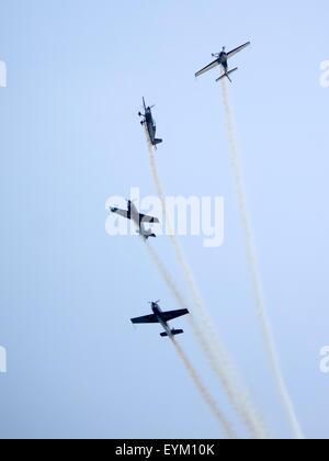 The blades Aerobatic display team - Stock Photo