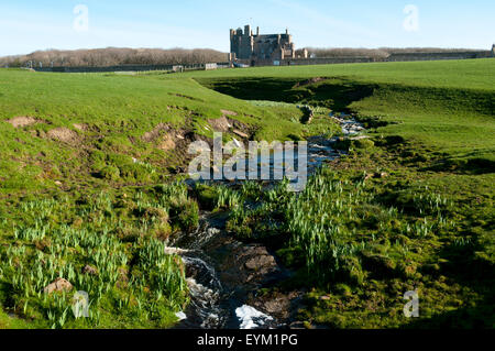 The Castle of Mey, near the village of Mey, on the north coast of Caithness, Scotland, UK.