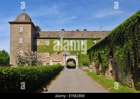 Burg Schnellenberg (castle), Attendorn (town), Sauerland, North Rhine-Westphalia, Germany, - Stock Photo