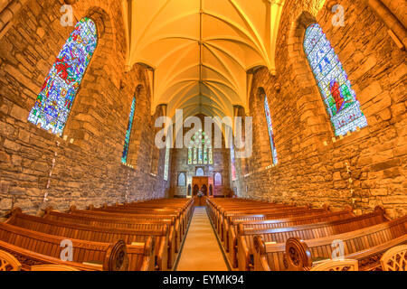 Dornoch Cathedral Scottish Highlands - Stock Photo