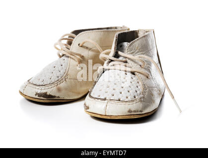 Old Fashioned Leather Baby Shoes