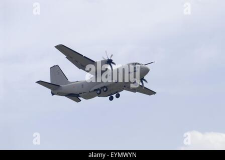 Italian Air Force, tactical cargo plane C 27 J Spartan - Stock Photo