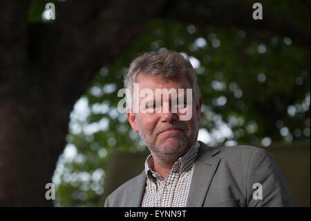 Swedish novelist, Arne Dahl, appearing at the Edinburgh International Book Festival. - Stock Photo