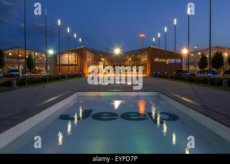 MIRAFIORI MOTOR VILLAGE, THE MAIN FCA SHOWROOM IN TURIN, ITALY - Stock Photo
