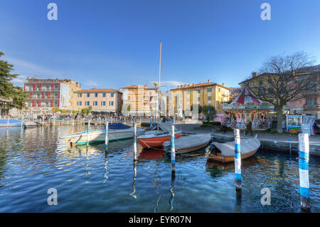 Italy, Lombardy, Iseo lake - Stock Photo
