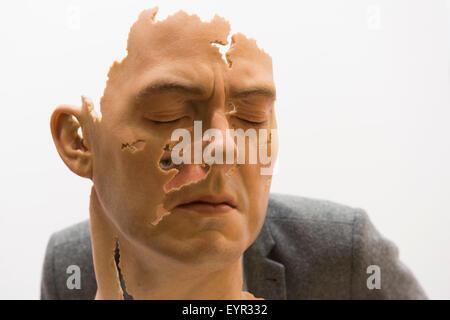 London, UK. 3 August 2015. Self-Portrait Fragment by Jamie Salmon, 2013, estimate: GBP 18,000-25,000. Edition 3 - Stock Photo