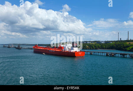 South Hook LNG Terminal, Milford Haven, Pembrokeshire, South Wales, UK