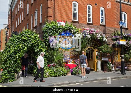 Sarastro restaurant in Drury Lane London - Stock Photo