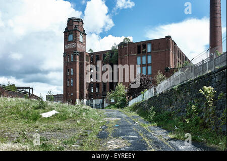 Hartford Mill at Freehold, Greater Manchester - Stock Photo