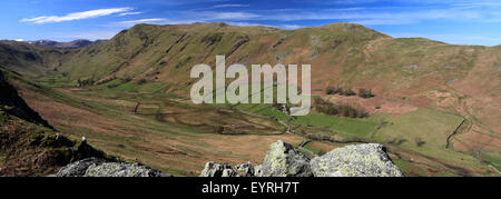 Place Fell and the Boredale valley, Lake District National Park, Cumbria County, England, UK.