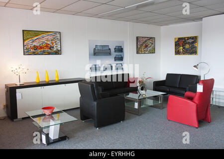 Showroom of modern furniture - Stock Photo