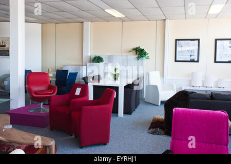 Showroom for retail of modern furniture - Stock Photo
