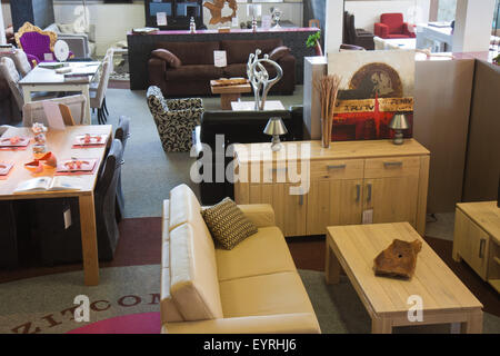 Shop with modern furniture - Stock Photo