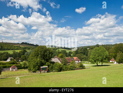 The Weald and Downland Open Air Museum, Singleton, West Sussex. - Stock Photo