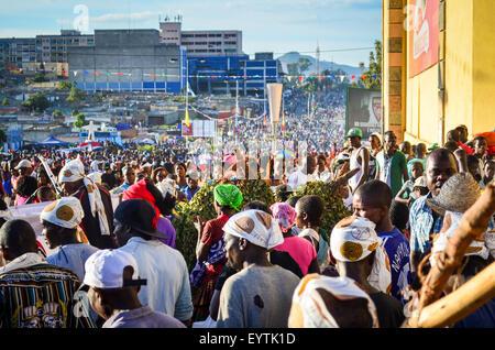 Carnival do Lubango, Angola (2014) - Stock Photo
