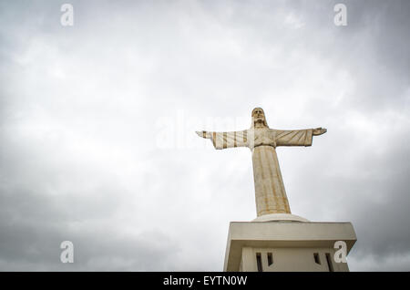 Christo Rei de Lubango (Christ the King statue), Lubango, Angola - Stock Photo