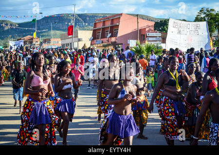 Carnival do Lubango, Angola (2014) - Stock Photo