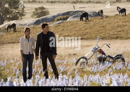 Ghost Rider ; Year : 2007 - USA ; Director : Mark Steven Johnson ; Nicolas Cage, Eva Mendes ; 2005 Columbia Pictures - Stock Photo