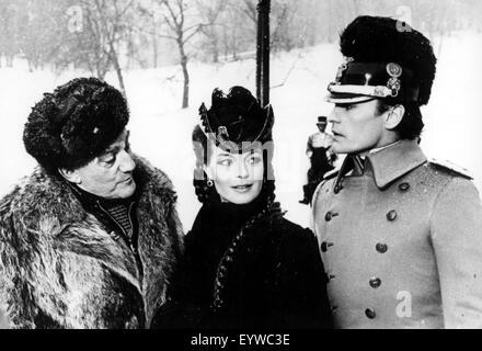 Ludwig  Year: 1972  Italy Director: Luchino Visconti Helmut Berger, Romy Schneider, Luchino Visconti  Shooting picture - Stock Photo