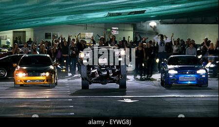 Fast and Furious ; Year : 2009 USA ; Director : Justin Lin ; Vin Diesel, Paul Walker - Stock Photo