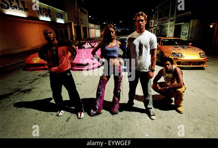 Two Fast two Furious ; Year : 2003 USA ; Director : John Singleton ; Amaury Nolasco, Devon Aoki, Michael Ealy, Paul - Stock Photo