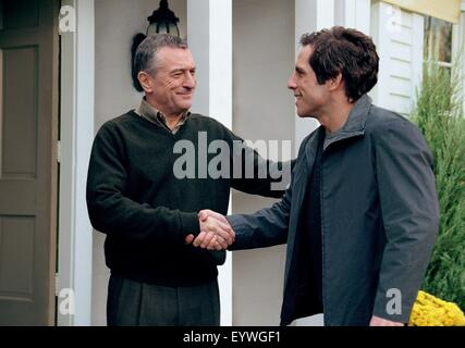 Meet the Parents ; Year : 2000 USA ; Director : Jay Roach ; Ben Stiller, Robert De Niro ; Photo: Phillip V. Caruso - Stock Photo