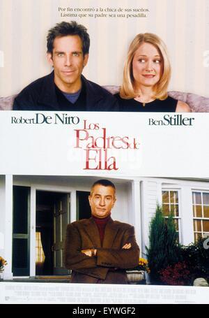 Meet the Parents ; Year : 2000 USA ; Director : Jay Roach ; Ben Stiller, Robert De Niro, teri Polo ; Movie poster - Stock Photo