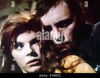 The Collector ; Year : 1965 UK / USA ; Director : William Wyler ; Terence Stamp, Samantha Eggar - Stock Photo