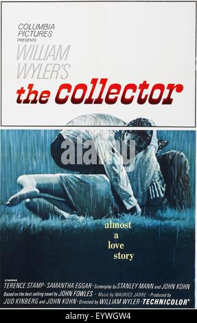 The Collector ; Year : 1965 UK / USA ; Director : William Wyler ; Movie poster (USA) - Stock Photo