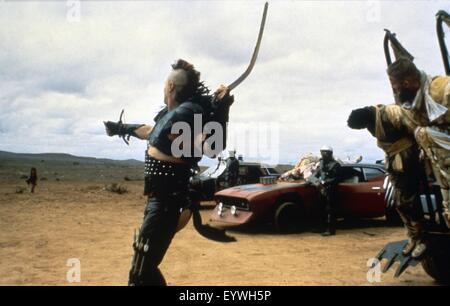 Mad Max II: The Road Warrior ; Year : 1981 Australia ; Director : George Miller ; Vernon Wells ; Photo: Carolyn - Stock Photo