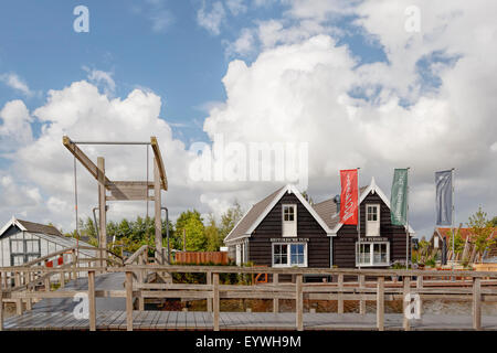 View on the Historical Garden Aalsmeer, a botanical garden in Aalsmeer, North Holland, The Netherlands. - Stock Photo