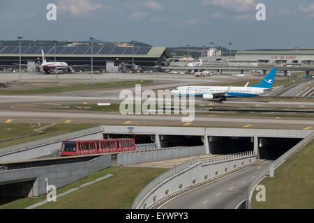 Kuala Lumpur International Airport, Kuala Lumpur, Malaysia, Southeast Asia, Asia - Stock Photo