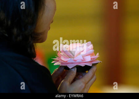 Great vow shrine, Fo Guang Shan temple, the biggest Buddhist temple in Europe, Bussy St. George, Seine et Marne, France, Europe Stock Photo