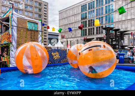 berlin alexanderplatz international street theatre festival berlin stock photo royalty free. Black Bedroom Furniture Sets. Home Design Ideas
