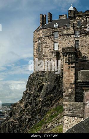 Edinburgh Castle, Scotland, United Kingdom - Stock Photo