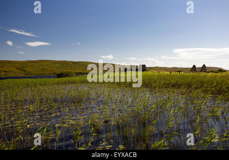 Finlaggan, Lordship of the Isles, Islay - Stock Photo