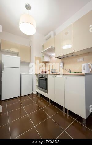 Modern kitchen interior design - Stock Photo