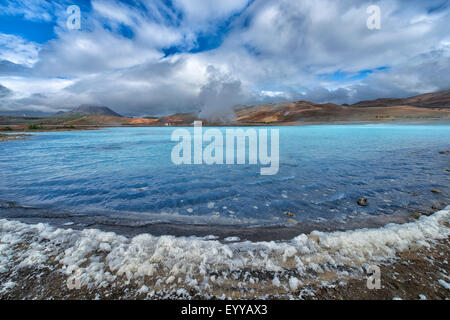 Geothermal Area Hverir, Iceland - Stock Photo