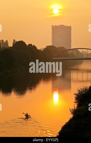 , Germany, North Rhine-Westphalia, Ruhr Area, Oberhausen - Stock Photo