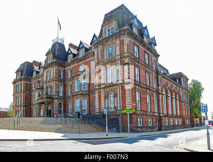 Hanley Town Hall Stoke on Trent Staffordshire England UK - Stock Photo