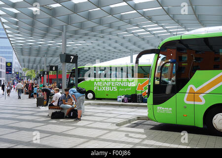 zob central coach station bus port hamburg germany europe stock photo 34027293 alamy. Black Bedroom Furniture Sets. Home Design Ideas