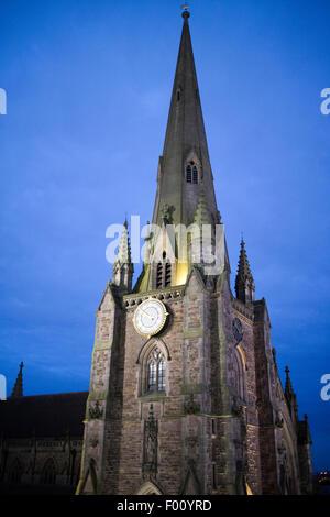 St Martin church in the bullring birmingham england uk - Stock Photo