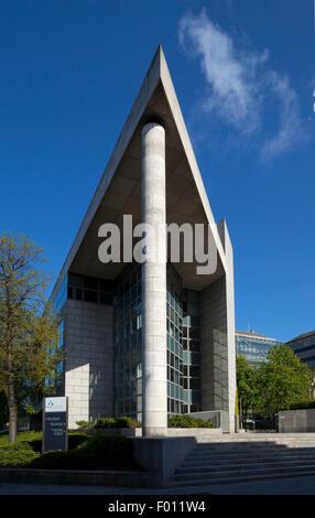 Dublin Corporation Civic Offices on Wood Quay. Dublin City, Ireland - Stock Photo