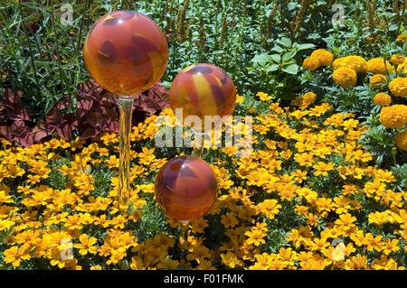 Rosenkugeln, Ambiente, Gartenambiente, - Stock Photo