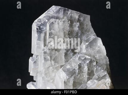Minerals: Tabular barite - Stock Photo