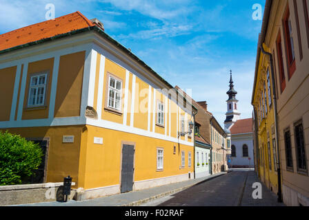 Budavari, Castle district, Buda, Budapest, Hungary, Europe - Stock Photo