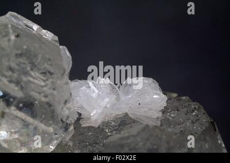 Anhydrite, sulphate. - Stock Photo